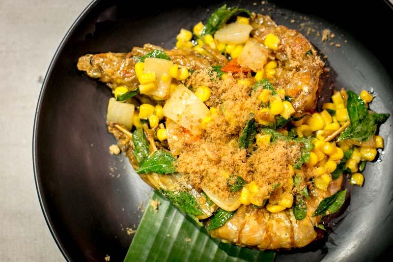 haha thai singapore buttercorn prawn