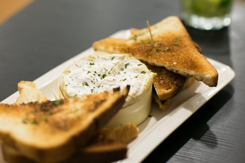 braseiro singapore Fondue de Camembert
