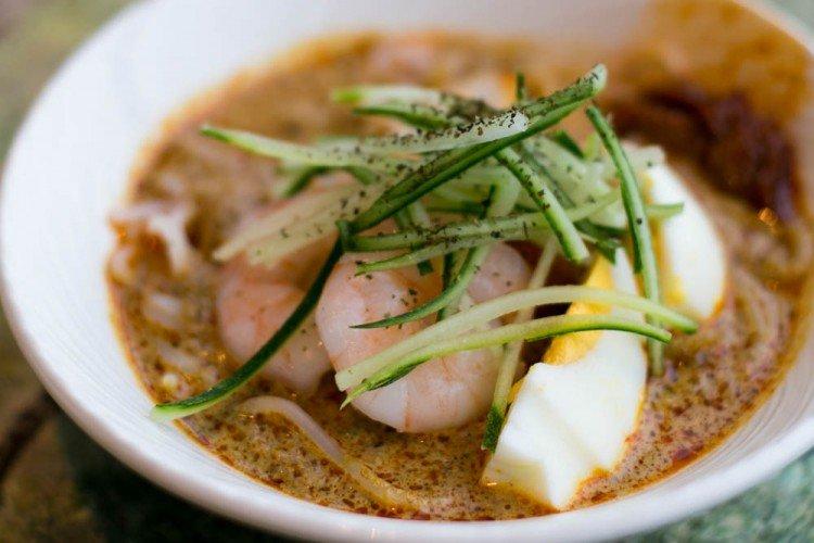 best laksa singapore Westin seasonal tastes