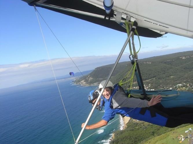 Australia hang gliding