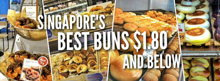 best singapore buns $1.80 and below