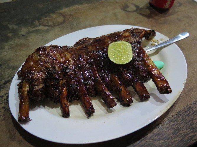 must eat in bali Naughty Nuri's BBQ ribs Bali