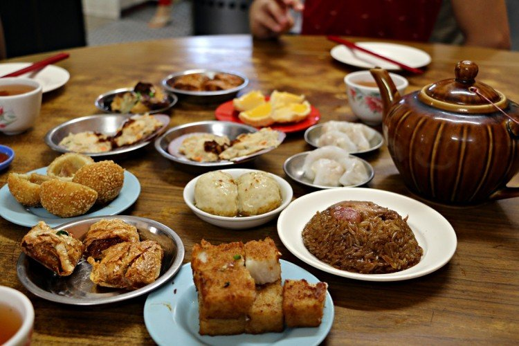 must eat foods penang dim sum aik hoe