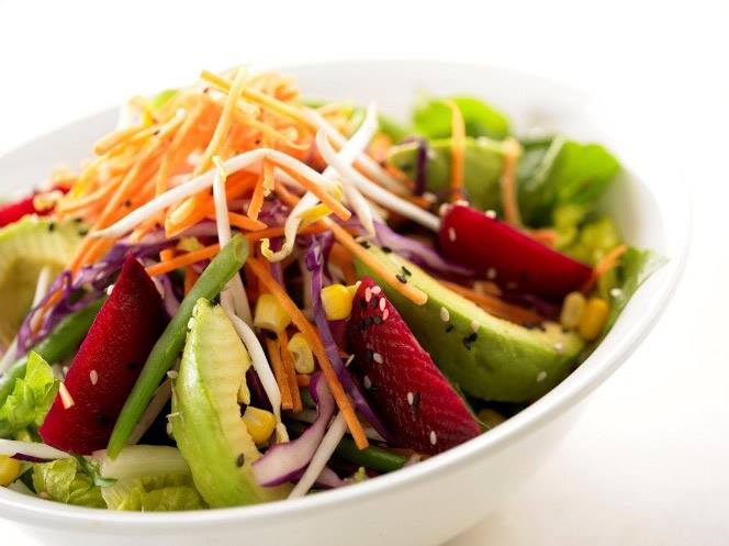 Juiced Rawbars salad