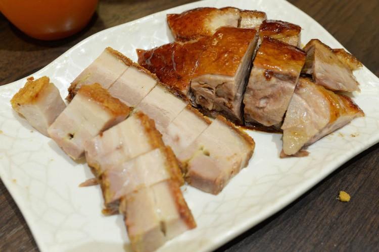 Legendary Hong Kong  crispy pork belly london roast duck