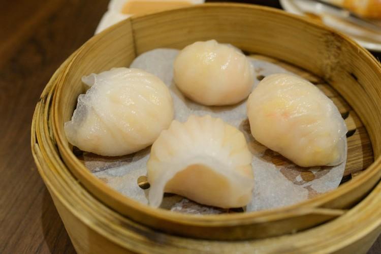 Legendary Hong Kong  steamed shrimp dumplings