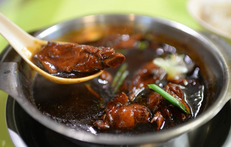 Soon Huat Cooked Food sesame oil chicken