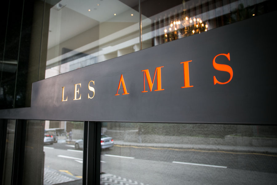 Les Amis Restaurant Singapore Fine Dining Review