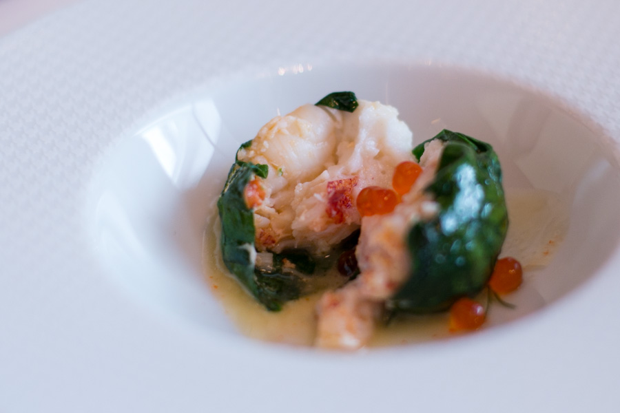 les amis singapore Warm Lobster Rouelle