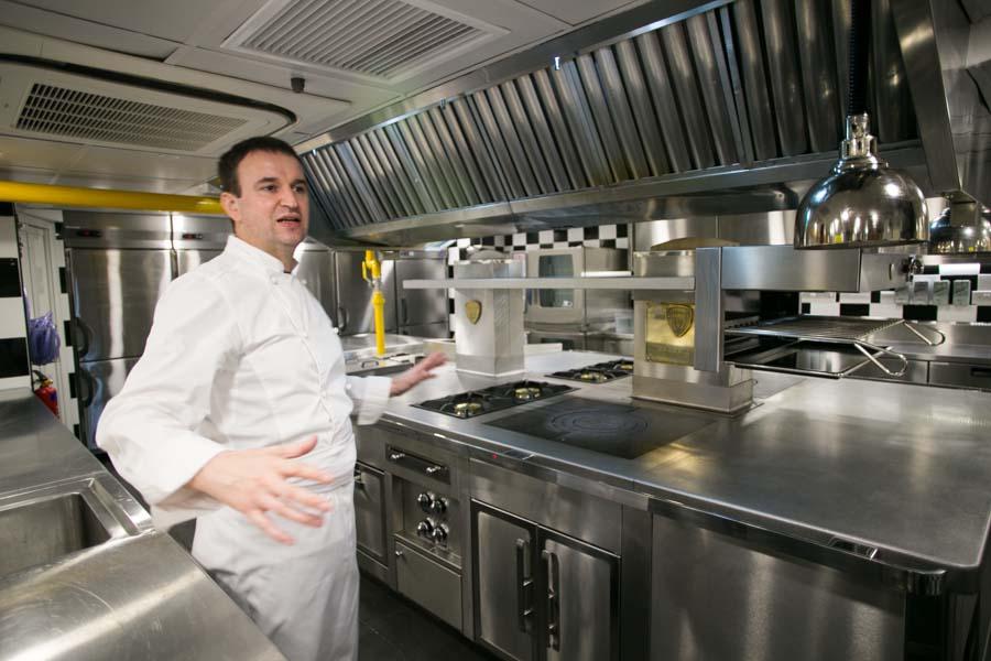 les amis singapore chef sebastien kitchen