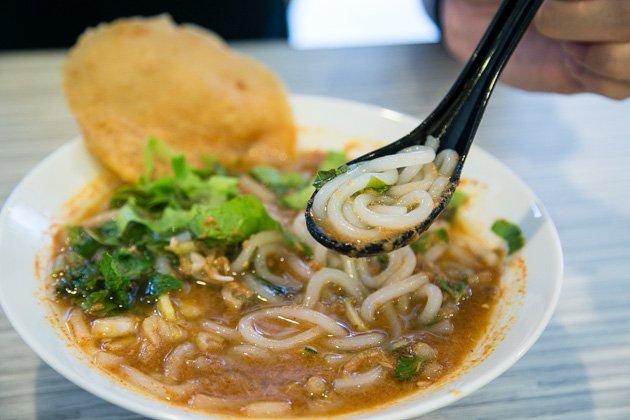 penang street food assam laksa