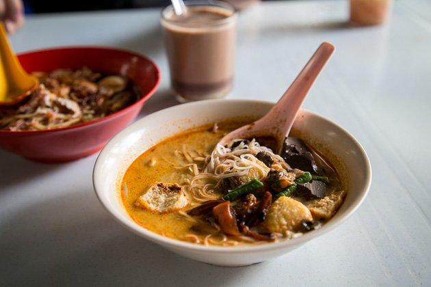 best penang street food curry mee