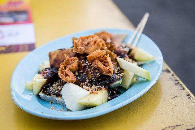 penang street food rojak