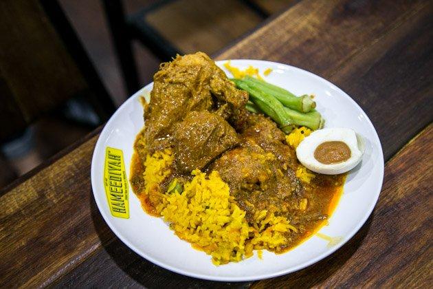 best penang street food nasi kandar