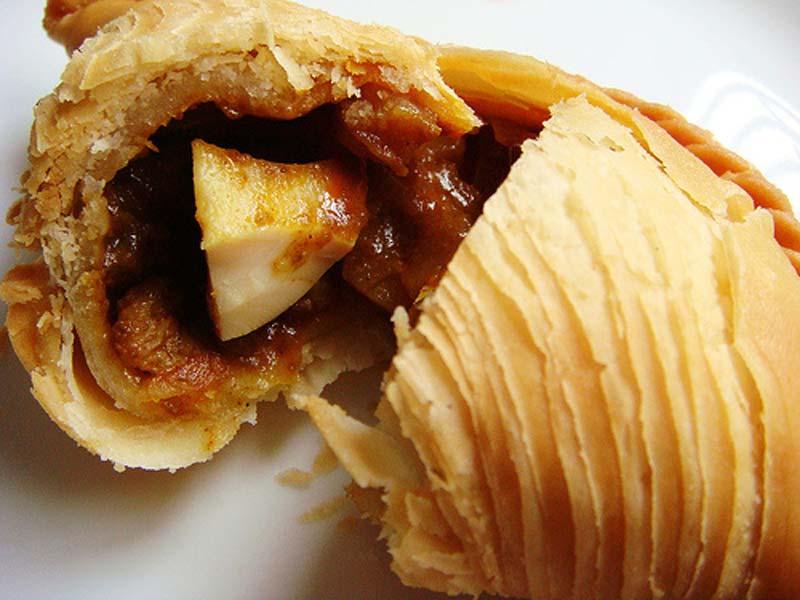 1A-Crispy best curry puff singapore