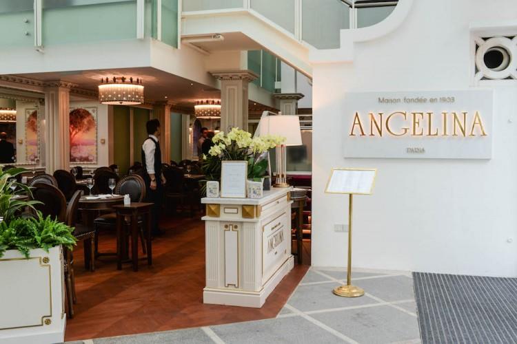 Angelina restaurant front