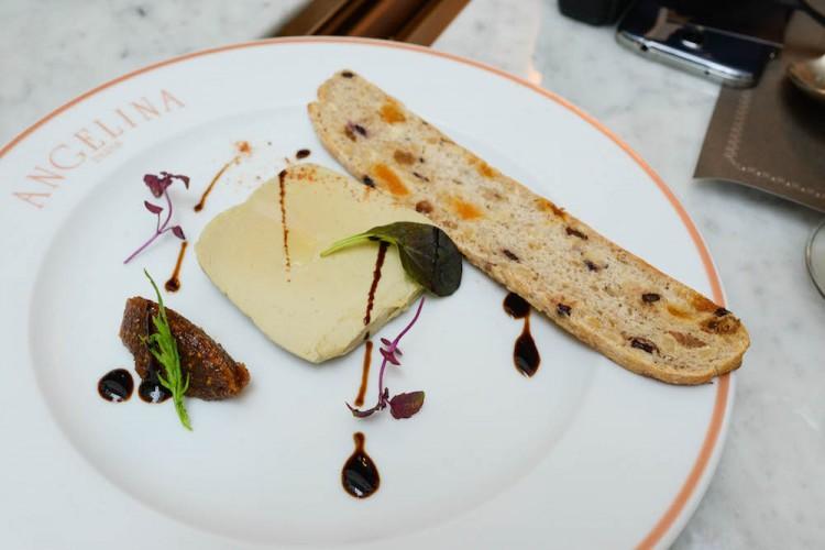 Angelina semi cooked duck foie gras terrine