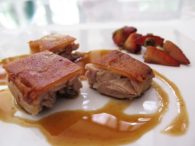 La-Ventana suckling pig spanish fine dining singapore