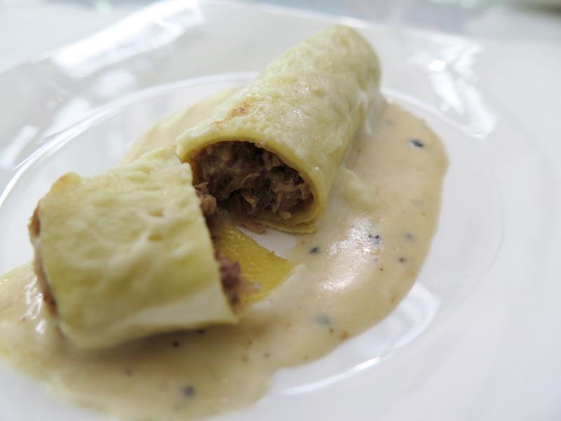 La-Ventana spanish fine dining singapore canelon
