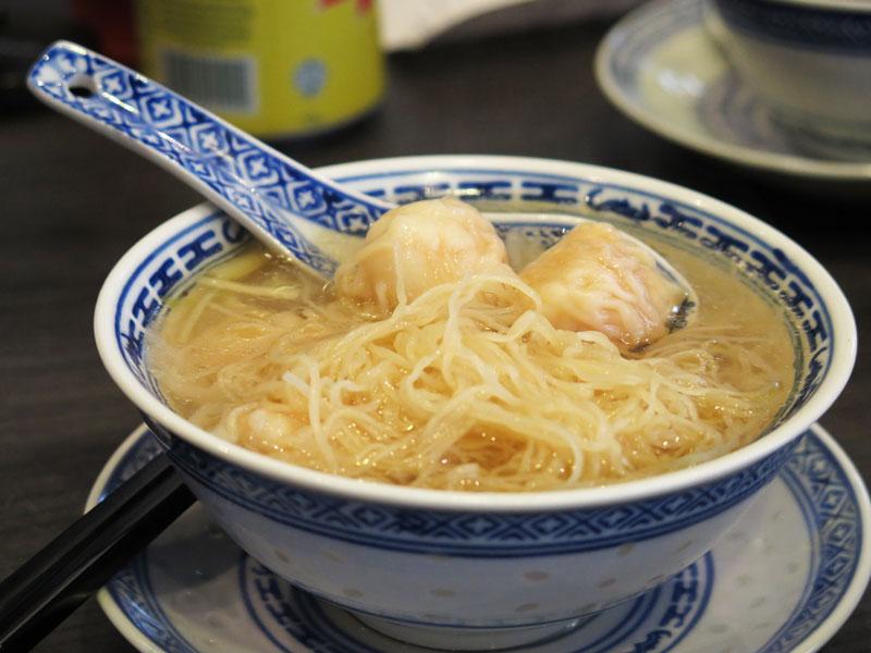 Mak's noodle singapore wanton mee