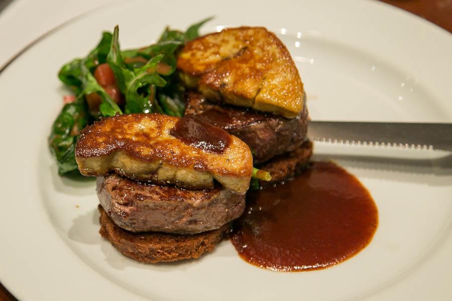 new york steakhouse bangkok  Beef Tournedos