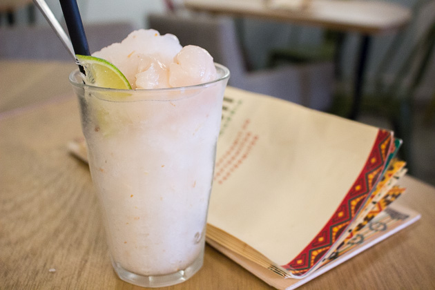 Afterwit Mexican Cafe-Lychee Mojito
