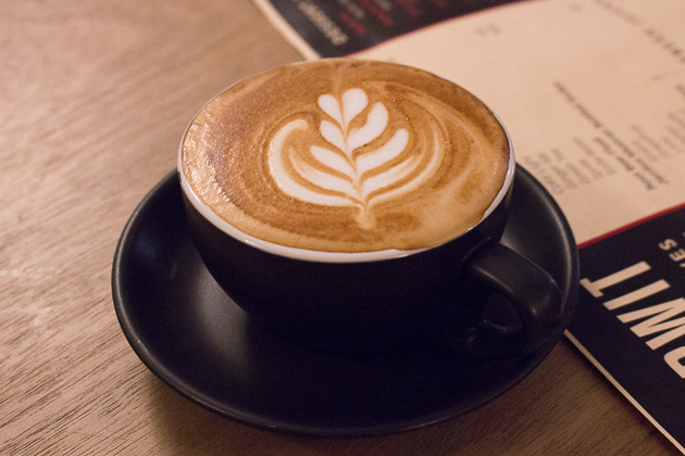 Afterwit Mexican Cafe-Flat White