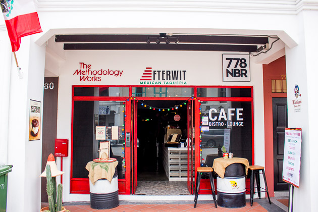 Afterwit Mexican Cafe-Exterior
