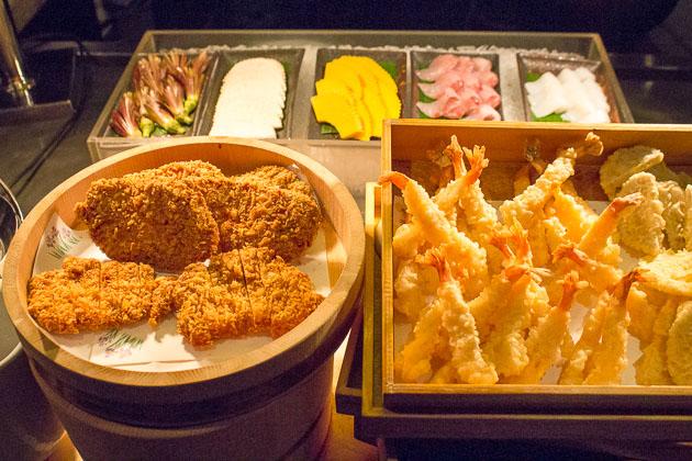 Tsu Nami Brunch - tempura