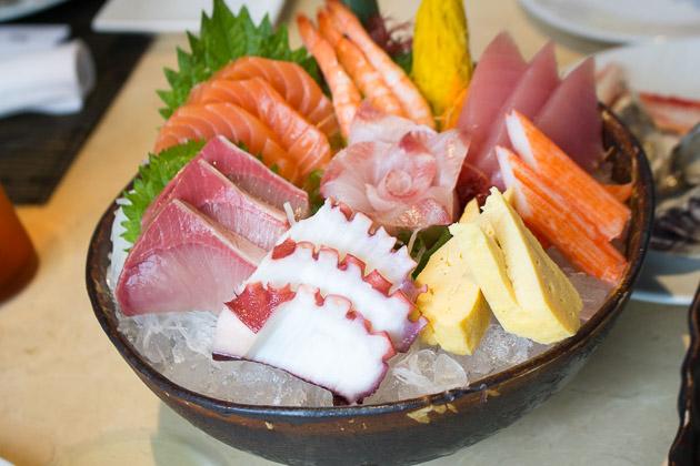 Tsu Nami Brunch - sashimi