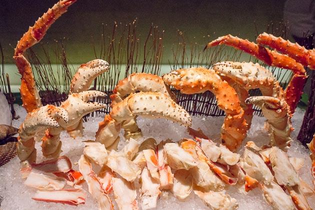 Tsu Nami Brunch - Alaskan king crab legs