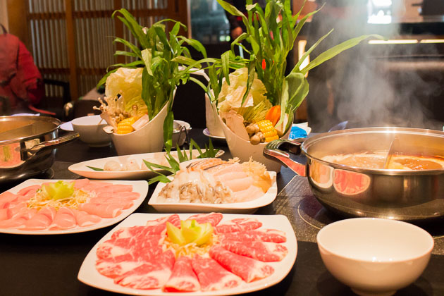 Ping's Hotpot - beef