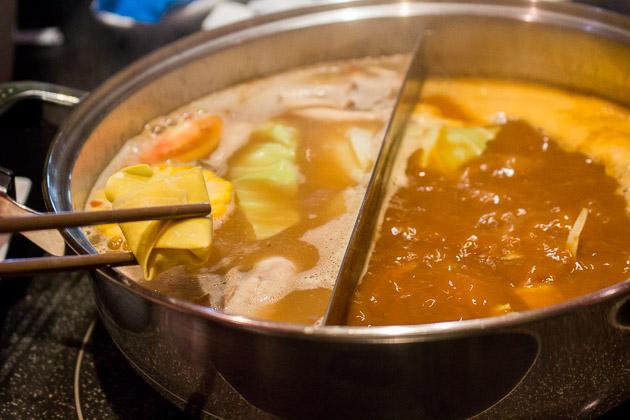 Ping's Hotpot - shrimp wanton