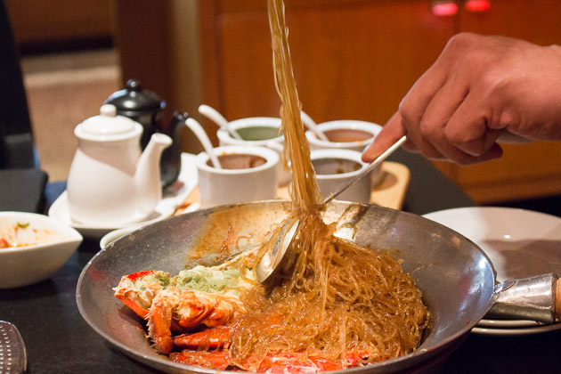 Ping's Hotpot - Lobster with Vermicelli