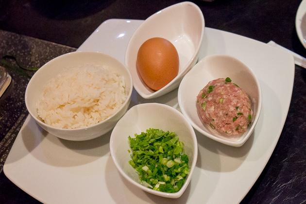 Ping's Hotpot - porridge