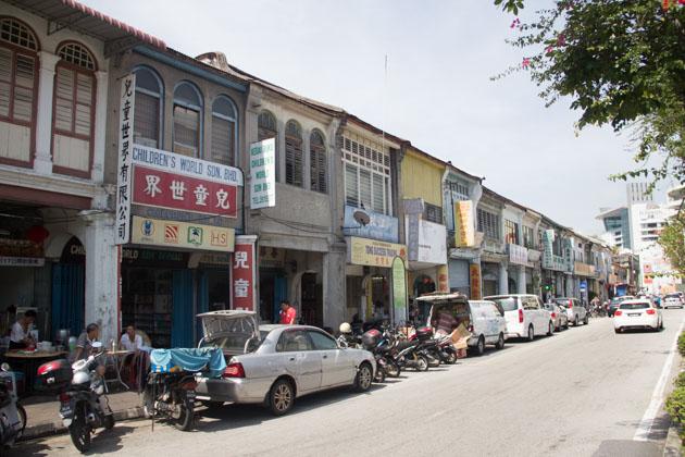 Air Asia ASEAN Pass - Penang streets