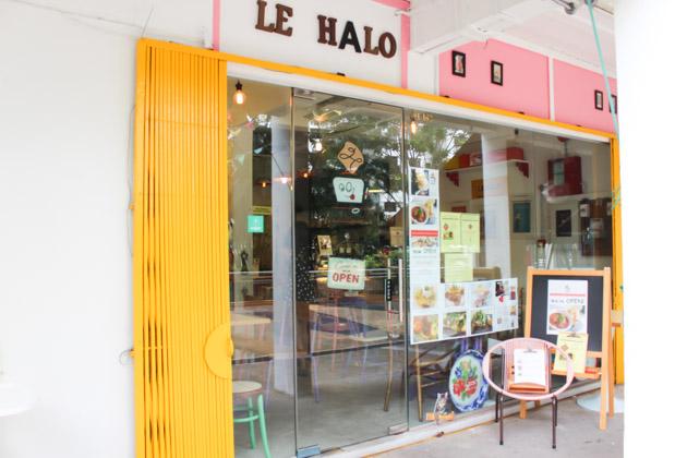 Le Halo cafe singapore