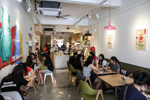 best cafes in kuala lumpur KL owls cafe