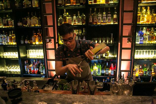 28 Hongkong street speakeasy bar singapore