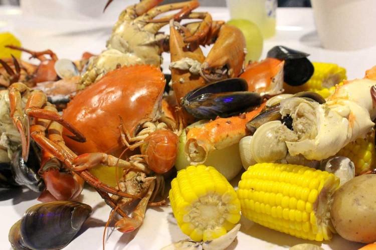 Crab in da Bag best american food singapore