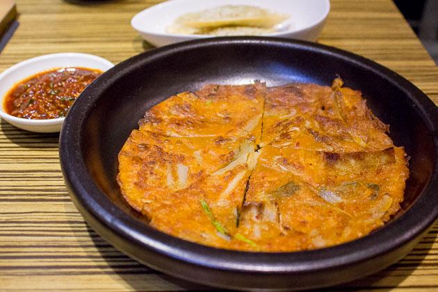 Kimchi Korean Restuarant Kimchi Jeon