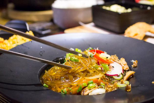 Kimchi Korean Restuarant Jap Chae