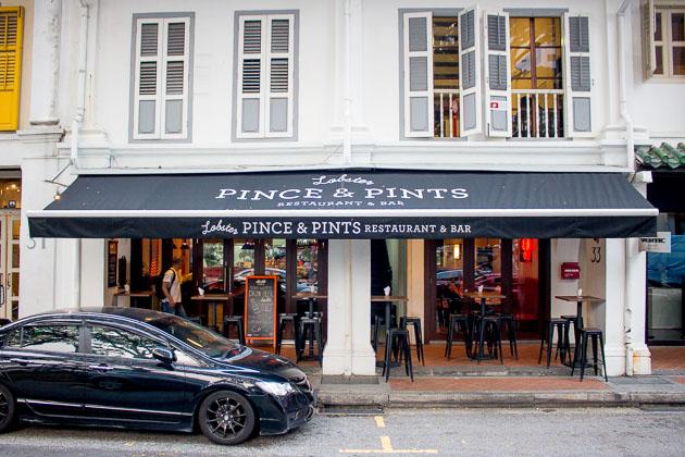 Pince & Pints-Exterior