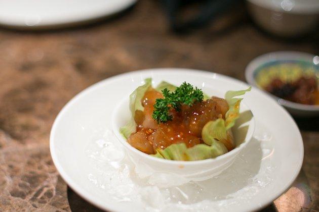 sum yi yai singapore chilled jelly fish