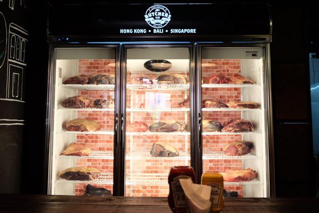 The Butchers Club - Meat fridge
