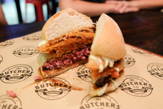 The Butchers Club Singapore - Wutang Burger