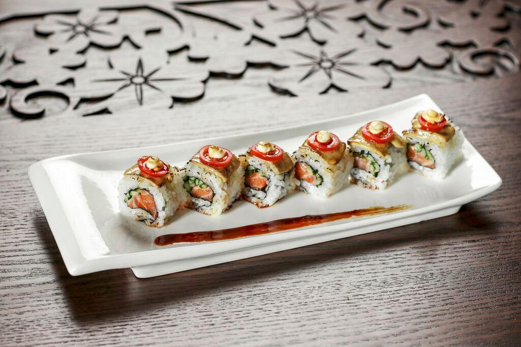 Fukusen Foie Gras Sushi