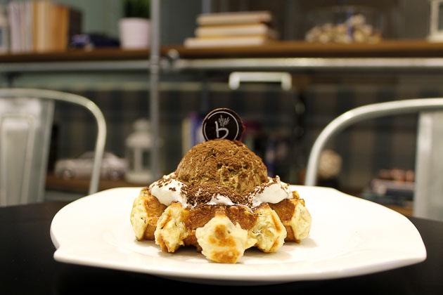 Caffe Bene Waffle