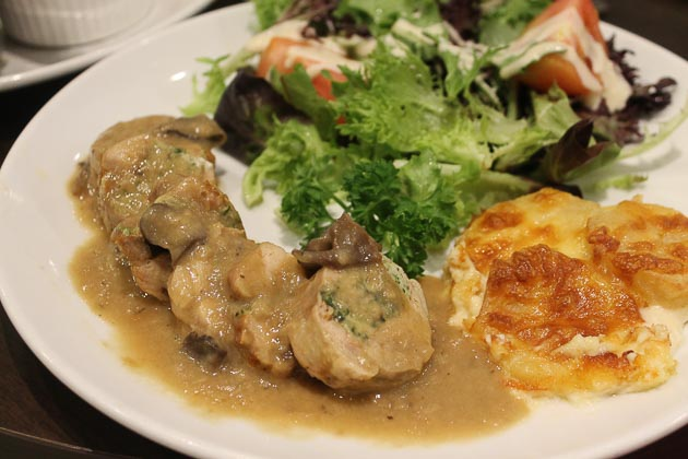 City Sq Mall - Delifrance chicken roulade