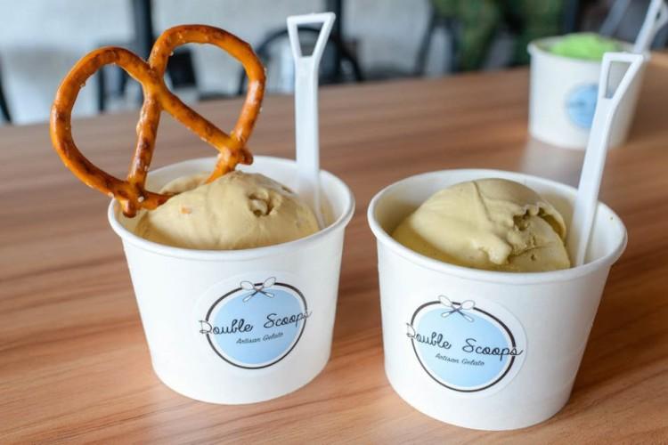 best ice cream - Double Scoops